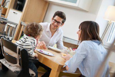 bebek aile öğün