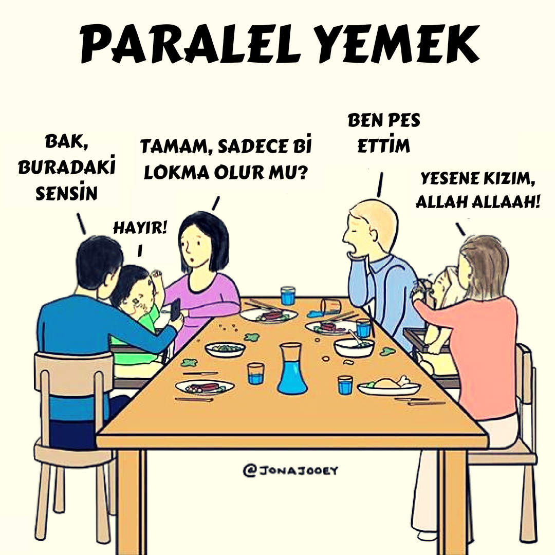 paralel yemek
